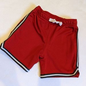 Carter's red gym shorts